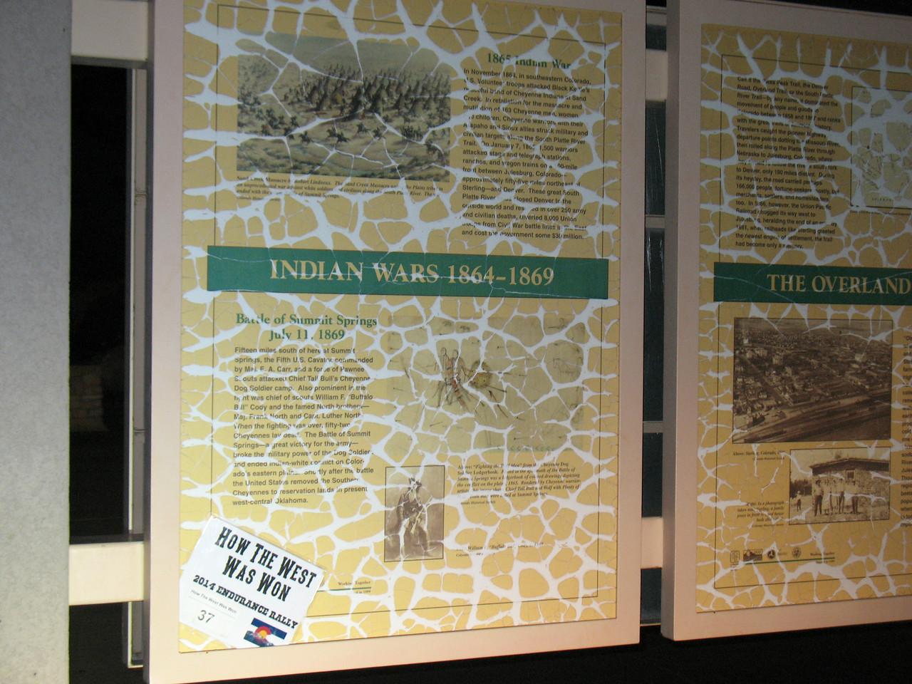 Start of Trail - Indian Wars Information Center