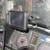 Main GPS attached to windshield