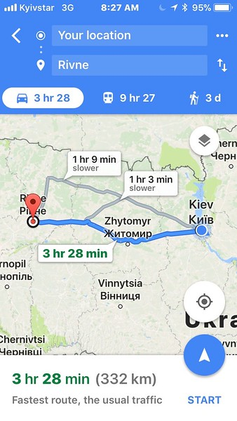 This was going to be an exciting adventure!  We were taking a Ukrainian trackchasing road trip.