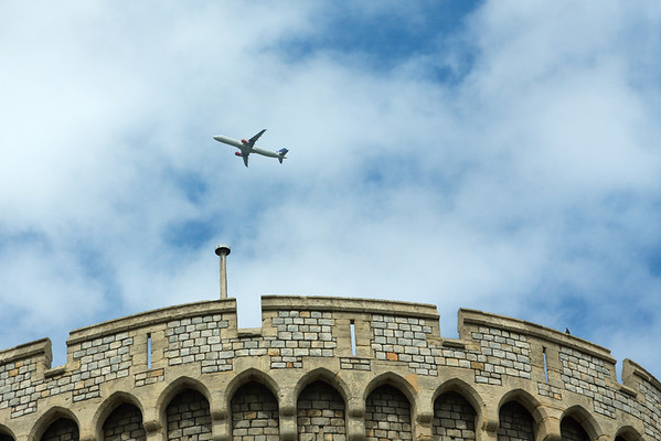 Over Windsor Castle