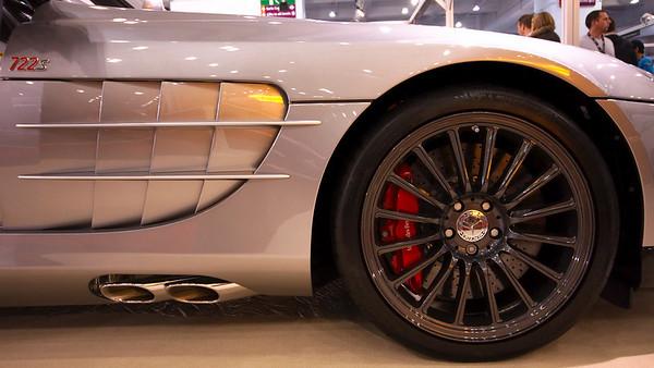 McLaren Mercedes SLR 722s