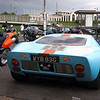Ford GT40 in Gulf racing colours at the Ace Cafe London