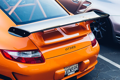997 GT3RS in Orange