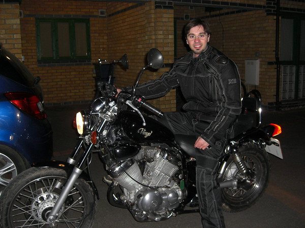 Me and my Virago 535
