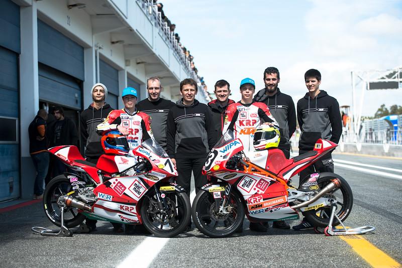 FIM CEV Repsol 2018 - Team KRP