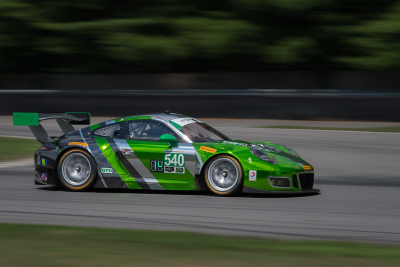 Porsche 911 GT3 R - Black Swan Racing