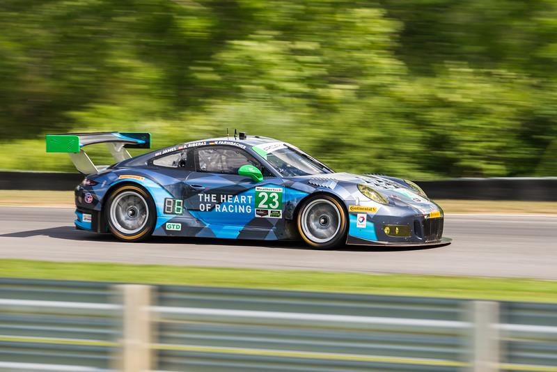 Team Seattle/Alex Job Racing - Porsche 911 GT3 R