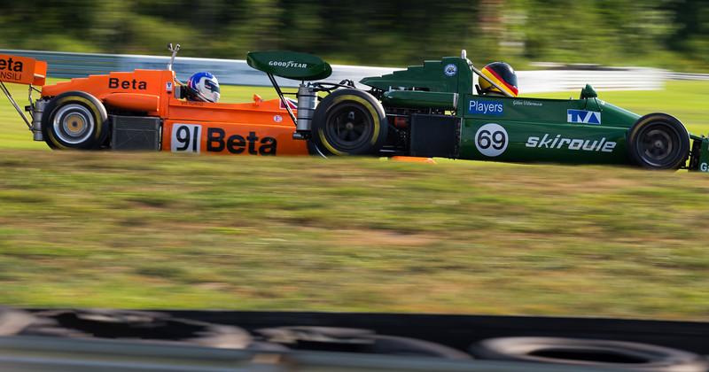 1975 March 75B Formula Atlantic (Green) and 1975 March 75B (Orange)