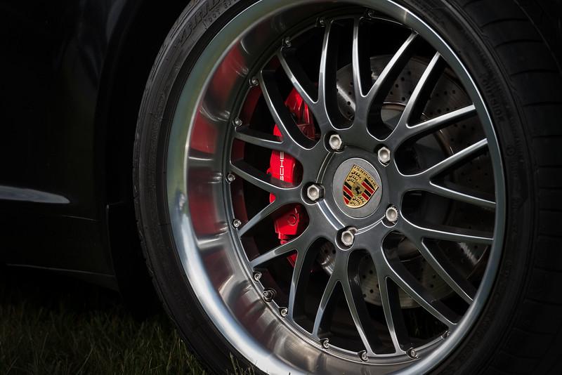 Porsche wheel.
