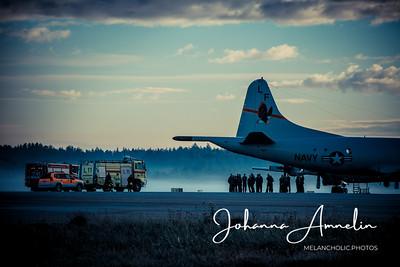 Morning at the air port