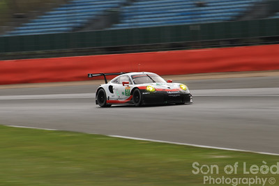 Porsche 911 GTEpro at Stowe