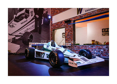ex Alan Jones Williams F1 car