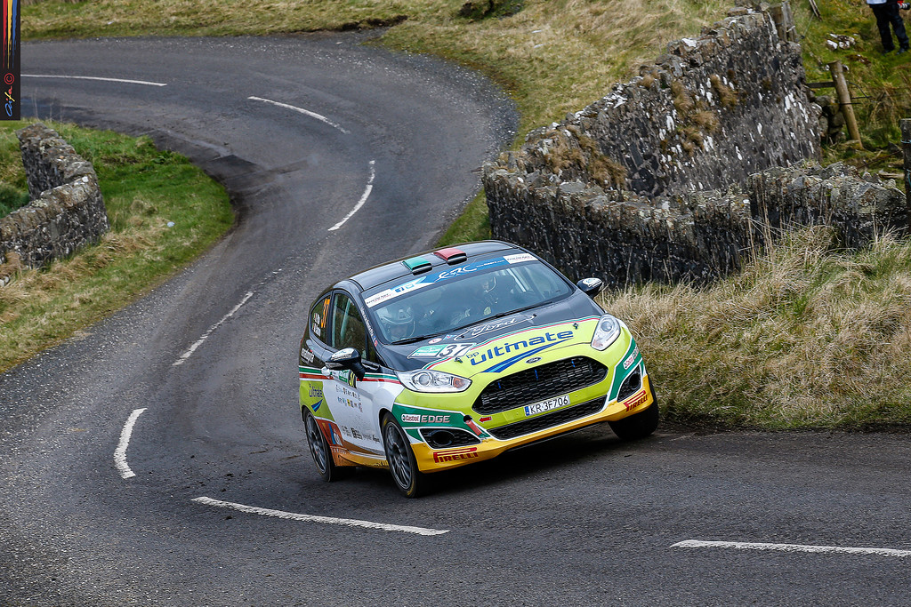 AUTO - ERC IRELAND RALLY 2016