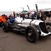 The Napier-Railton is a 535bhp, 24 litre, W12, Napier Lion aero-engined car from 1933. Between 1933 and 1937 the Napier-Railton broke 47 World speed records at Brooklands, Montlhéry and Bonneville Salt Flats in Utah.  It is owned by the Brooklands Museum.