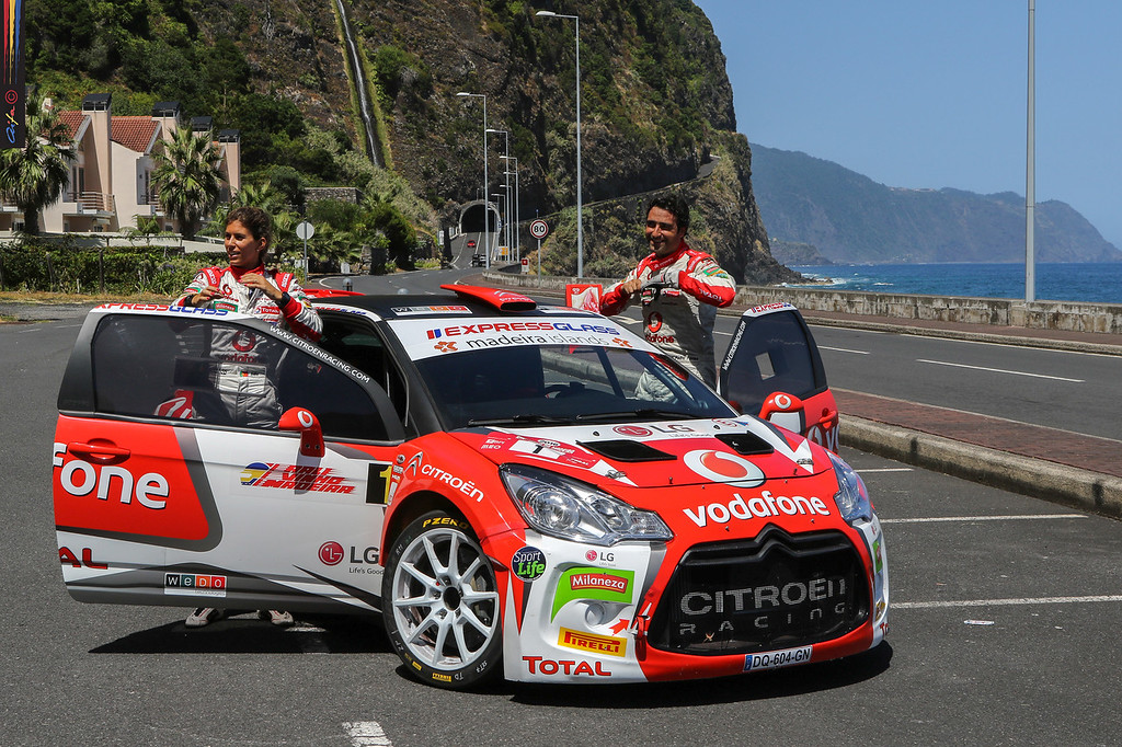01 José Pedro FONTES Ines PONTES CITROEN DS3 R5  Ambiance during the 2016 Rali VINHO MADEIRA from August 4 to 6, at Funchal Madeira Portugal - Photo Jorge Cunha / AIFA