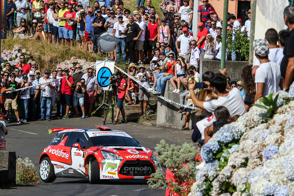 01 José Pedro FONTES Ines PONTES CITROEN DS3 R5  Action during the 2016 Rali VINHO MADEIRA from August 4 to 6, at Funchal Madeira Portugal - Photo Rui Reis / AIFA