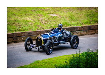 Classic Car on the Hill at Shelsley Walsh
