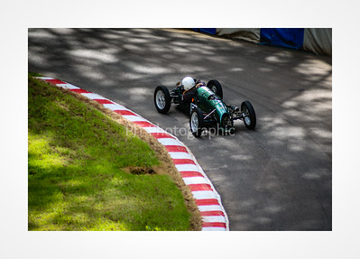 Hillclimb Single Seater Special attacking the hill