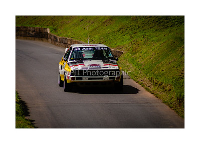 Audi Sport Quattro descending the hill