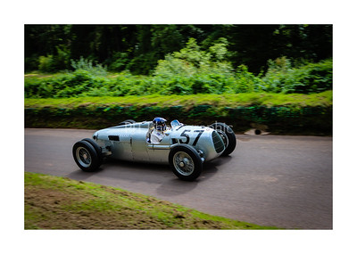 Auto Union Type C V16 Hillclimb Car