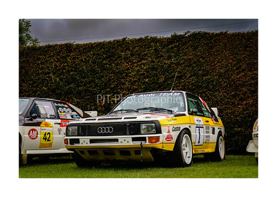 Audi Sport Quattro Group B car