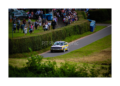 Audi Sport Quattro starting the climb up Shelsley Walsh