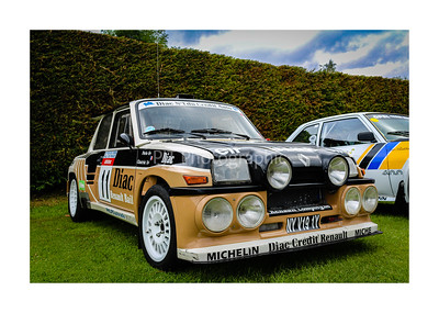 Renault 5 Maxi Turbo Group B Car