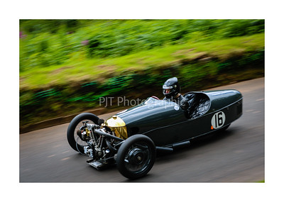 Morgan 3 Wheeler on the hillclimb