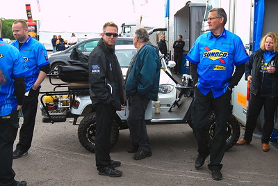 Santa Pod FIA Drag Racing Main Event, Day 2, Pits