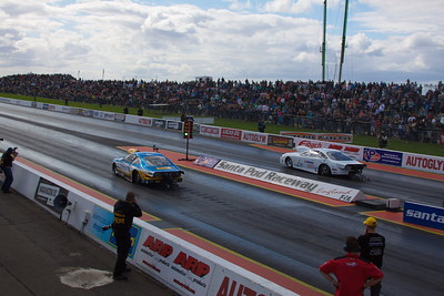 Santa Pod, European Finals, Day 3, 2011