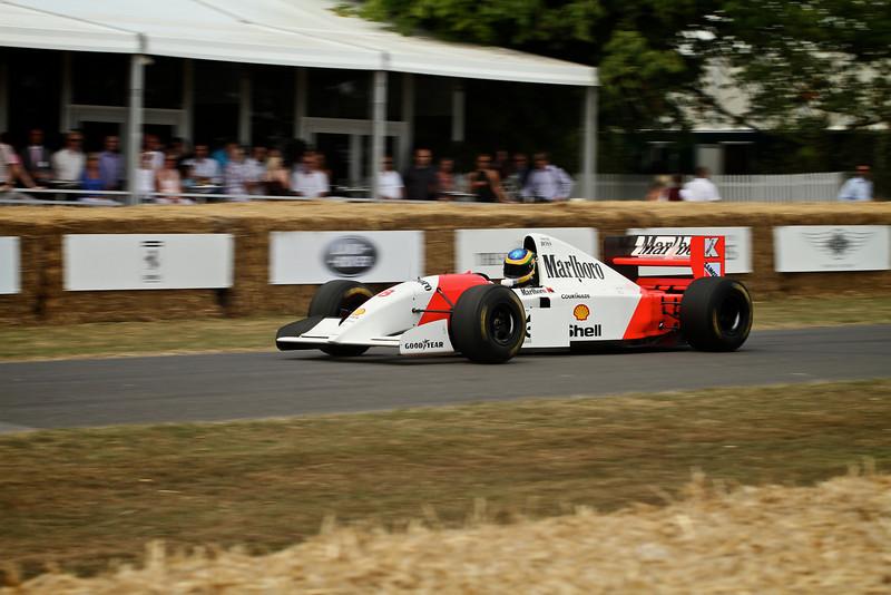 Bruno Senna, McLaren-Cosworth MP4/8 (1993)