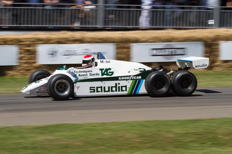Williams-Cosworth FW08B