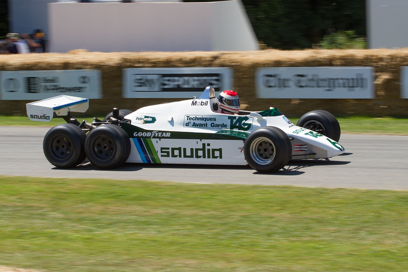 Williams-Cosworth FW08B