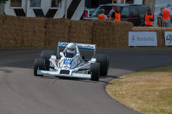 2009-07-05 Goodwood Festival of Speed, Day 3, Molecomb Corner, Morning