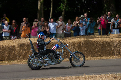 2009-07-05 Goodwood Festival of Speed, Day 3, Molecomb Corner, Bikes