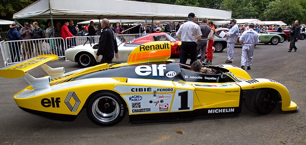 2012-06-29 Goodwood Festival of Speed, Day 1, Pits