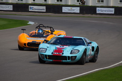 2010-09-17 Goodwood Revival, Day 1, Track Action