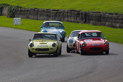 2010-09-19 Goodwood Revival, Day 3, Track, Lavant Corner, Fordwater Trophy Race