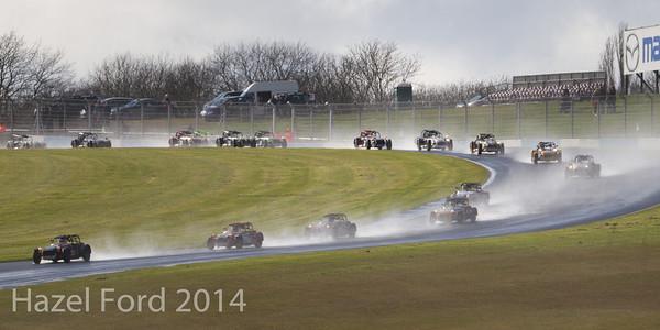 Donington Park March 2014