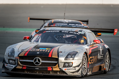 Gravity Racing International Mercedes SLS AMG GT3