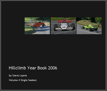 Hillclimb Year Book 2006 Volume 4 Single Seaters