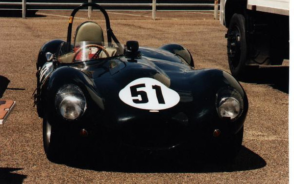 Jaguar D Type Replica