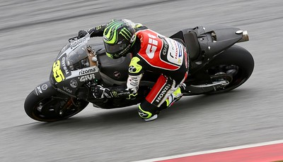 Cal Crutchlow, LCR Honda CASTROL during day one of official MotoGP testing at Sepang International Circuit, Malaysia 28th January 2018. Photo by John Stewart/SportDXB