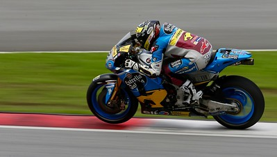 Thomas Luthi, EG 0,0 Marc VDS in action during day one of official MotoGP testing at Sepang International Circuit, Malaysia 28th January 2018. Photo by John Stewart/SportDXB
