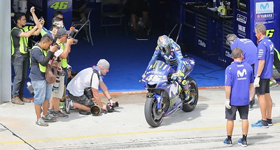 MotoGP during day one of official MotoGP testing at Sepang International Circuit, Malaysia 28th January 2018. Photo by John Stewart/SportDXB