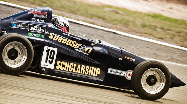 NZ Speedsport scholarship winner Aaron Hodgson