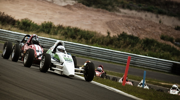 Formula First competitor Bryan McConkey
