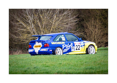 Ford Escort RS Cosworth powering away