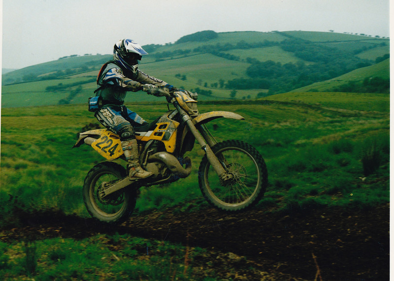Welsh 2-Day Enduro 2003. Gas Gas EC200