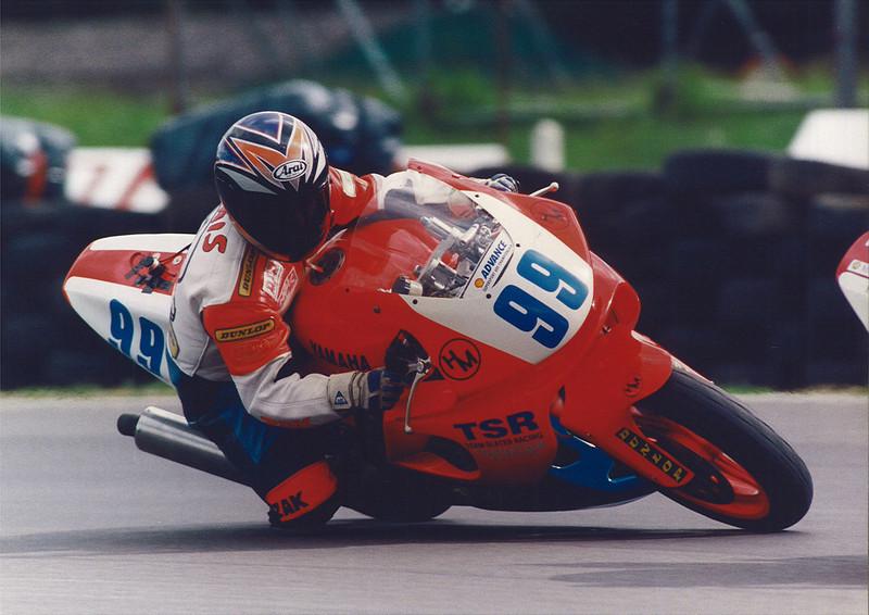 British Supersport Championship, Snetterton 1997. TSR Yamaha YZF600R